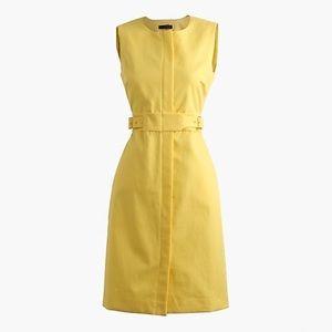 J.crew zip-front sleeveless dress